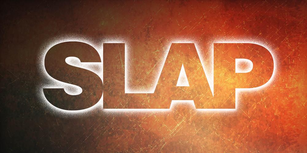 slap_logo_on_grunge